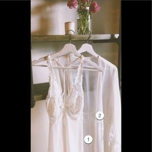 Jezebel Hela chemise L , kimono robe size S/M set